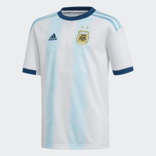 Camiseta Titular Selección Argentina White / Light Aqua DP2839