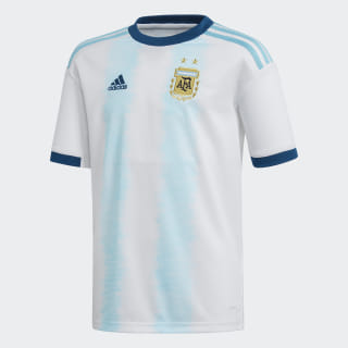 Camiseta de local de Argentina white / light aqua DP2839