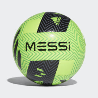 Pelota Messi Q3 SOLAR GREEN/BLACK/SOLAR LIME CW4174