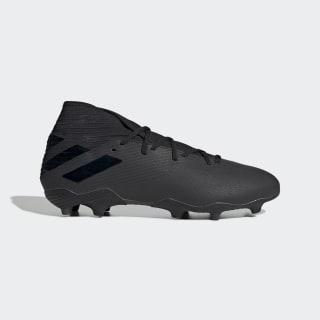 Calzado de Fútbol Nemeziz 19.3 Terreno Firme Core Black / Core Black / Utility Black F34390