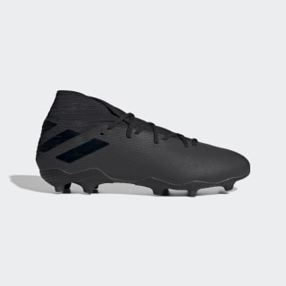 Zapatos de Fútbol Nemeziz 19.3 Terreno Firme Core Black / Core Black / Utility Black F34390