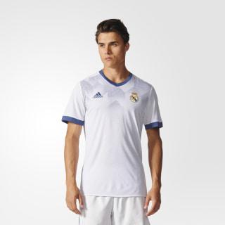 Jersey Local Prepartido Real Madrid WHITE/RAW PURPLE BP9169