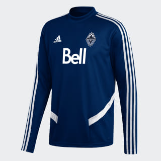Vancouver Whitecaps FC Training Top Deep Sea / White EI6196