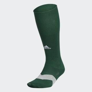 Metro Soccer Socks 1 Pair Collegiate Green / White / Clear Grey S48956