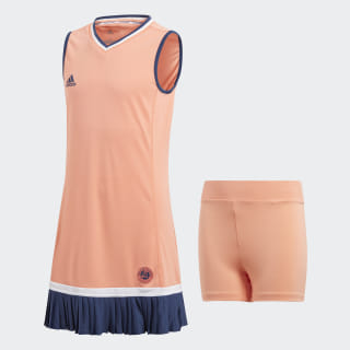 Платье для тенниса Roland Garros chalk coral s18 CW1634