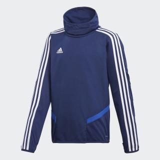 Tiro 19 Warm trøje Dark Blue / Bold Blue / White DT5282