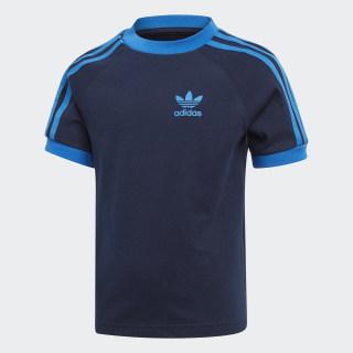 Camiseta 3 Rayas collegiate navy/BLUEBIRD EJ9371