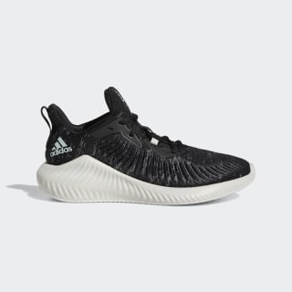 Tênis Alphabounce+ Run Parley Core Black / Linen Green / Cloud White G28373