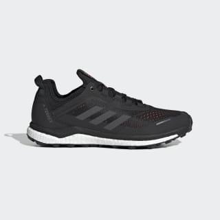 Terrex Agravic Flow Shoes Core Black / Grey Six / Solar Orange G26100