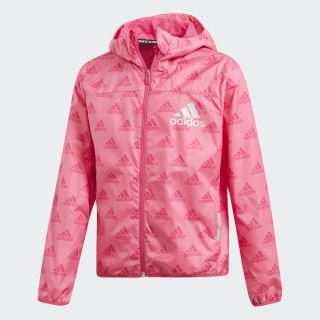 Must Haves Wind Jacket Semi Solar Pink / Real Magenta DV0329