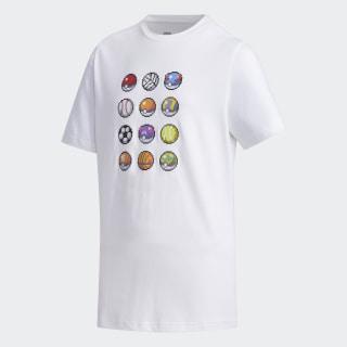 Camiseta Pokémon White FM0667