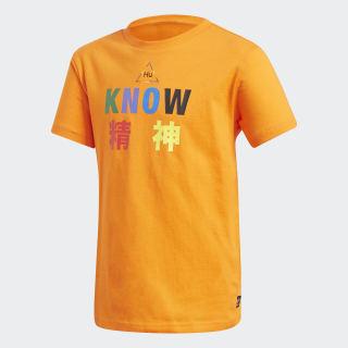 T-shirt Pharrell Williams Orange FR9066