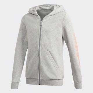 Chaqueta con capucha Linear Medium Grey Heather FM7026