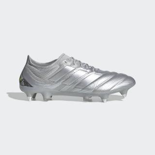 Calzado de Fútbol Copa 20.1 Terreno Suave Silver Metallic / Silver Metallic / Solar Yellow EF8325