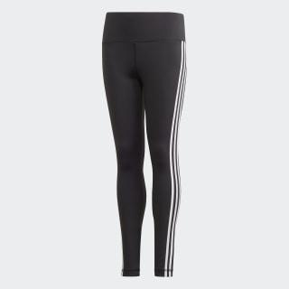 Believe This 3-Stripes Leggings Black / White FM5859