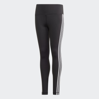 Believe This 3-Stripes Tights Black / White FM5859