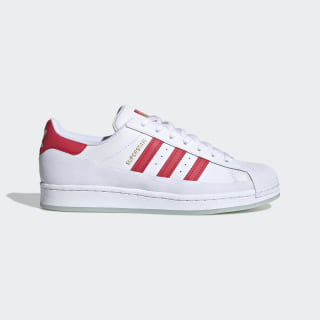 Superstar MG Shoes Cloud White / Glory Red / Gold Metallic FV3031