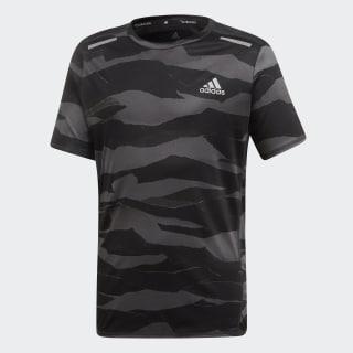Camiseta Run Grey Six / Carbon / Black DV2936