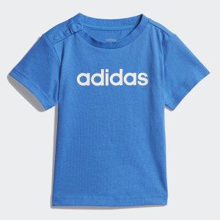 Linear T-Shirt True Blue / White DV1272