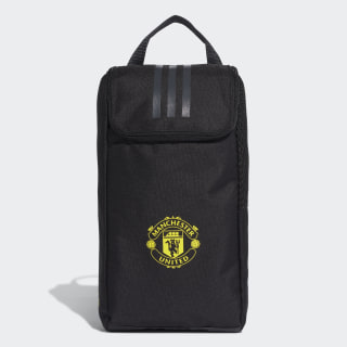 Porta Chuteira Man United black/solid grey/bright yellow DY7690