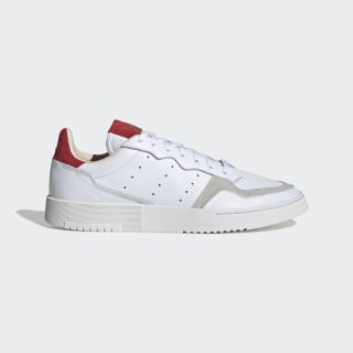 Tenis Supercourt Cloud White / Cloud White / Scarlet EF9181