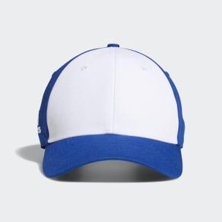 Colorblock Crestable Cap White / Collegiate Royal DM7025