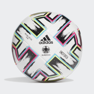 Uniforia Training Ball White / Black / Signal Green / Bright Cyan FU1549