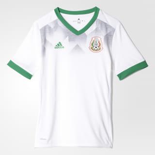 Домашняя предматчевая футболка сборной Мексики white / green BP9155