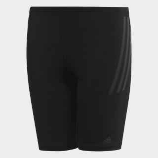 Plavky Pro 3-Stripes Swim Black / Carbon DP7511
