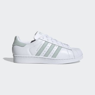 Superstar Shoes Cloud White / Vapour Green / Core Black EE7401