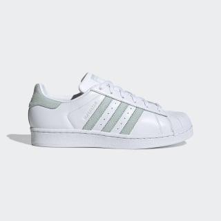 รองเท้า Superstar Cloud White / Vapour Green / Core Black EE7401