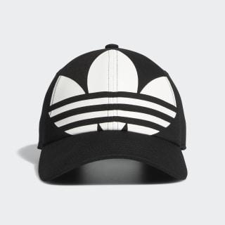 Relaxed Big Trefoil Hat Black CM3916