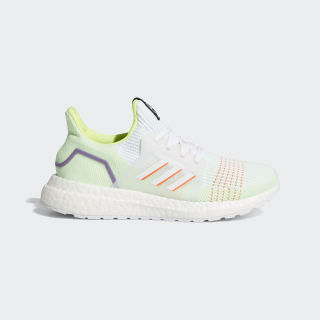 Ultraboost 19 Shoes Cloud White / Solar Red / Solar Yellow EE6657