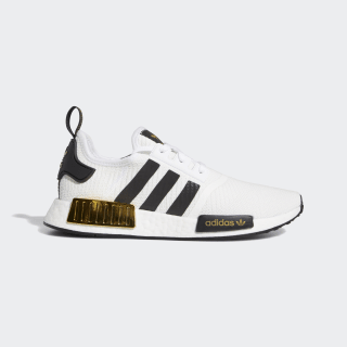 NMD_R1 Shoes Cloud White / Core Black / Gold Metallic EG5662