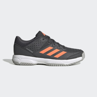 Zapatilla Court Stabil Grey Six / Signal Coral / Grey Two EH2557