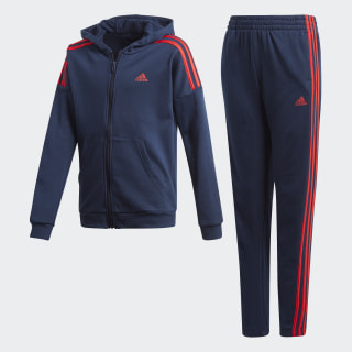 Trainingsanzug Collegiate Navy / Vivid Red FT1812