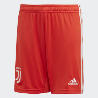 Juventus Away Shorts Hi-Res Red / Raw White DW5479
