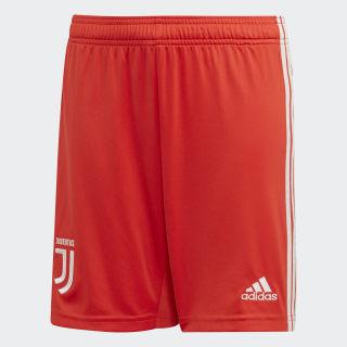 Pantalón corto segunda equipación Juventus Hi-Res Red / Raw White DW5479