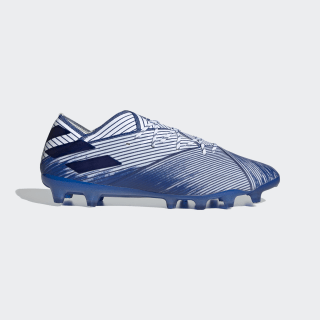 Scarpe da calcio Nemeziz 19.1 Artificial Grass Cloud White / Team Royal Blue / Team Royal Blue EG7334