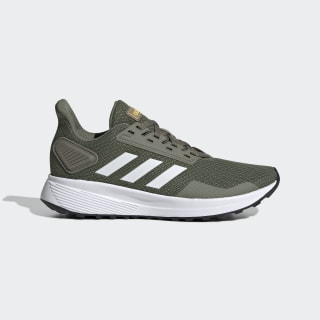 Duramo 9 Shoes Legacy Green / Cloud White / Eqt Yellow EG2531