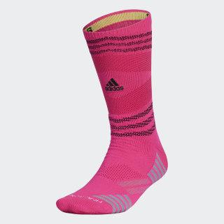 Speed Mesh Team Crew Socks Shock Pink CI0629