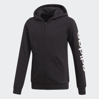 Mikina skapucňou Linear Black / White EH6124