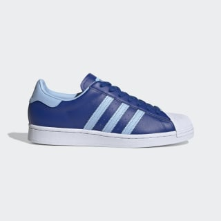 Chaussure Superstar. Collegiate Royal / Clear Sky / Cloud White FV3268