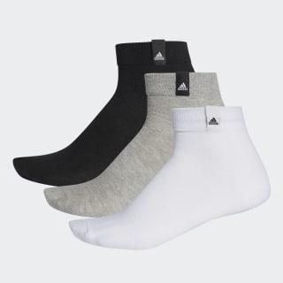 Три пары носков Performance white / medium grey heather / black AA2485