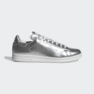 Stan Smith Shoes Silver Metallic / Silver Metallic / Crystal White FV4300