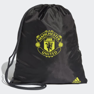 Bolsa Deportiva Manchester United Black / Solid Grey / Bright Yellow DY7689