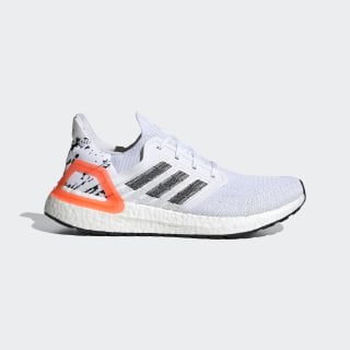 Ultraboost 20 Shoes Cloud White / Core Black / Signal Coral EG0699