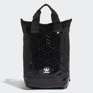 Roll-Top Backpack Black FL9675
