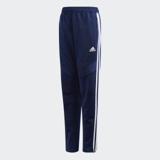 Tiro 19 Polyester Pants Dark Blue / White DT5183