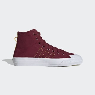 Nizza Hi RF Shoes Collegiate Burgundy / Eqt Yellow / Cloud White FV3265